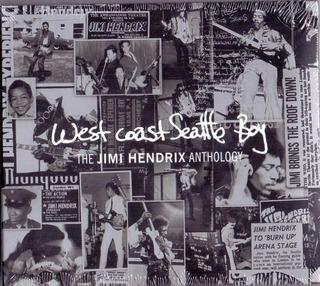 Cd+dvd West Coast Seattle Boy-the Jimi Hendrix Anthology Nov