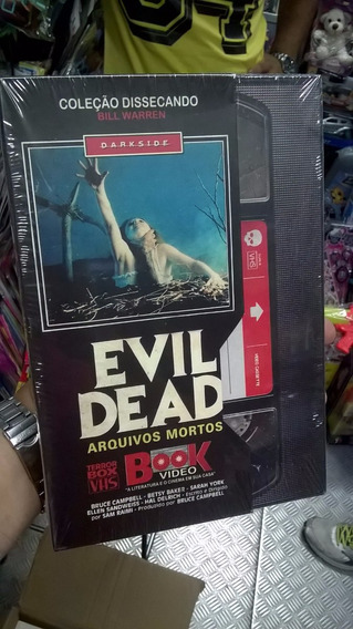 Darkside Books Evil Dead E Massacre Da Serra Elétrica Pack