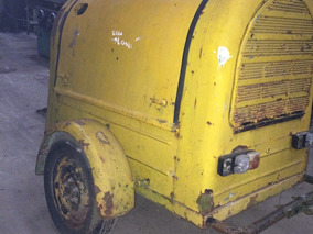 Motocompresor De Aire Diesel Deutz ,sobre Trailer Envios Al