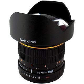 Lente Gran Angular Samyang 14mm F2.8 Para Olympus 4/3 Hm4