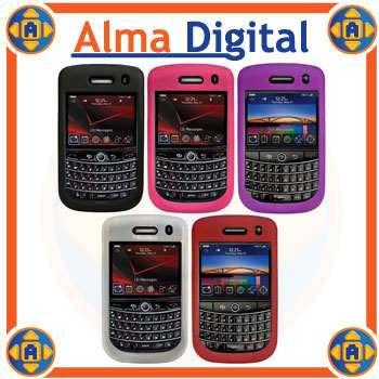 2x Forro Silicon Blackberry Tour 9630 Estuche Funda Goma