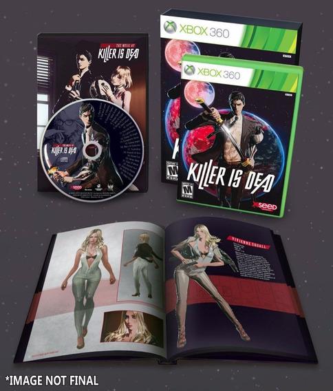 Killer Is Dead Edição Colecionador Especial Xbox 360