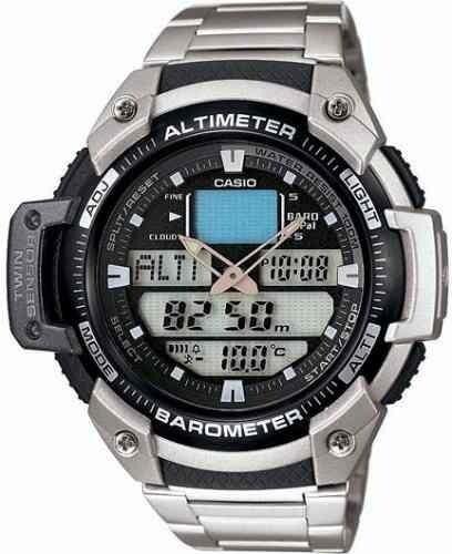 Reloj Casio Sgw 400 Acero Altimetro,barometro,termometro