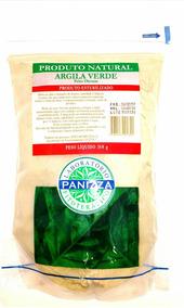 Argila Verde Peles Oleosas 350g Panizza Natural Esterelizado