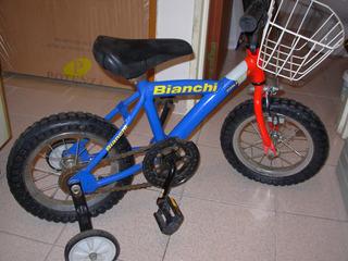 Bicicleta Bianchi Rodado 12 Como Nueva Sin Uso Tomo Canje