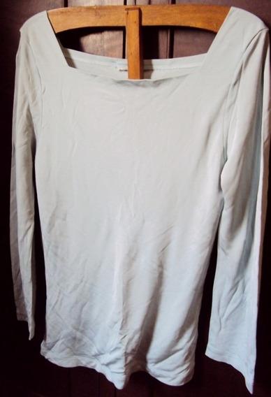 011 Rps- Roupa Blusa Camiseta Moda Atual- Cinza