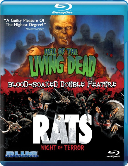 Blu-ray Hell Of The Living Dead / Rats Night Of Terror [eua]