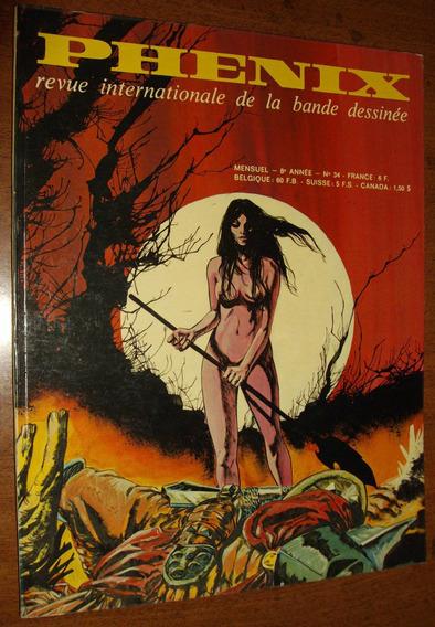 Gibi Fantasia Ficção Antigo Anos 70 Quadrinhos Europeus Raro