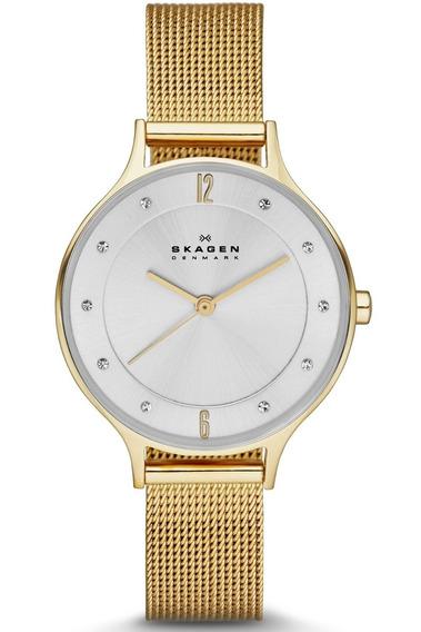 Relógio Skagen Gold Skw2150