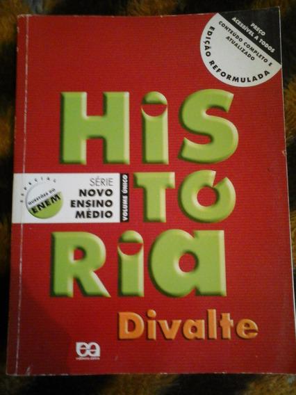 Livro Historia (divalte) Ensino Médio, Ótimo Estado
