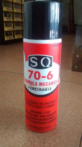 Spray Formula Mecanica 70-6 Penetrante Marca Sq 354 Ml