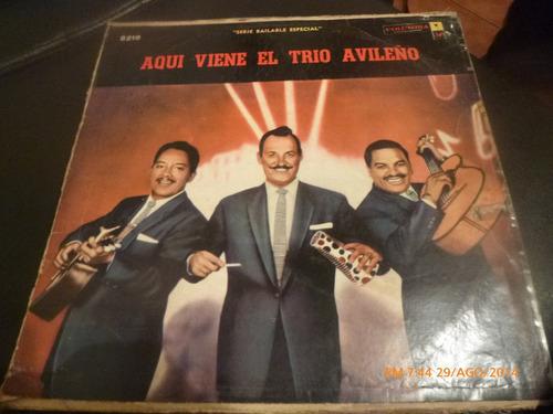 Vinilo Lp De Aqui Viene El Trio Avileño (u905