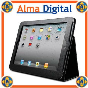 Estuche Cuero iPad 2 3 4 Forro Protector Tablet Apple Funda