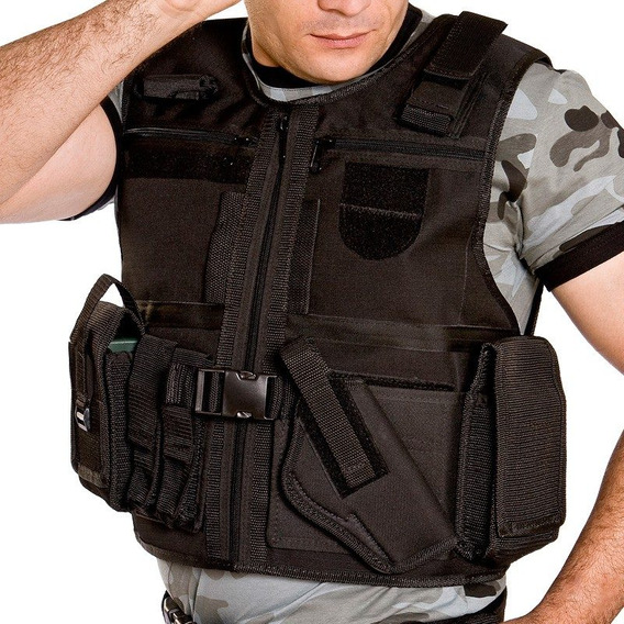 Colete Segurança Tático Militar Elite Comandos