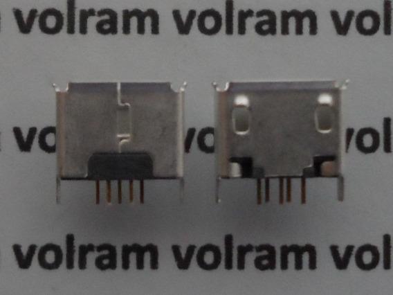Conector Micro Usb 180 Graus Tablet Mp3 Gps Celular