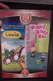 Dvd Louie Y Pinky Dinky Doo