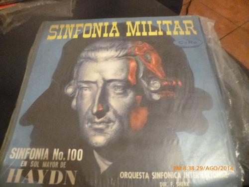 Vinilo Lp De Sinfonia Militar De Haydn   Sinfonia N°100(u393