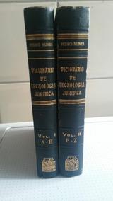 Livro Dicionário De Tecnologia Jurídica - 2 Volumes