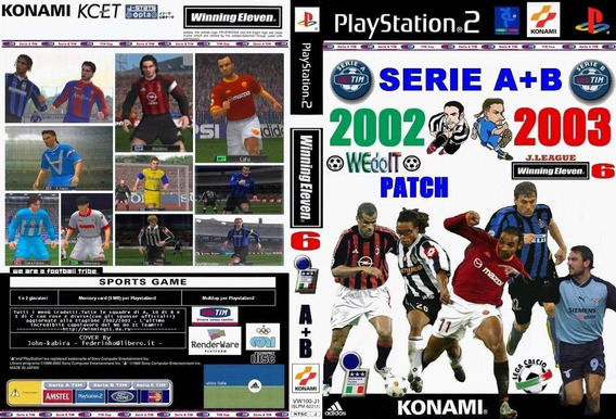 Winning Eleven 6 Fe Clube Well Edition - Playstation 2