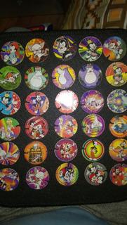Coleçao De Tazos Cards Animaniacs Elma Chips Completa