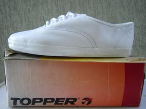 1fffd5ed323 Tênis Topper Rainha Prestige Vintage 80 s Bamba Kichute N33
