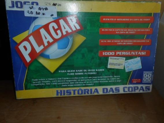 Jogo Placar História Das Copas Completo Raridade
