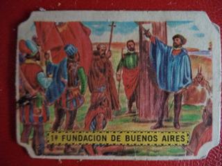 Figurita Sport 1967 Primera Fundacion De Buenos Aires