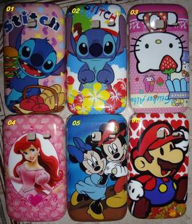 Capa Case Acrílico Galaxy Y Duos S6102 - Animes Disney