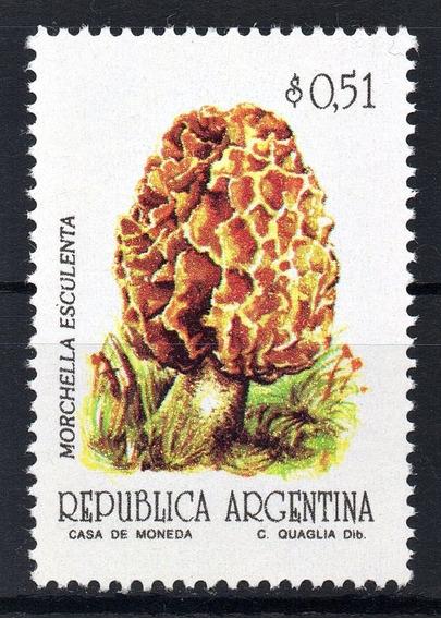 Argentina 1992 Gj 2596** Mint Hongo Semimate Serie Básica A