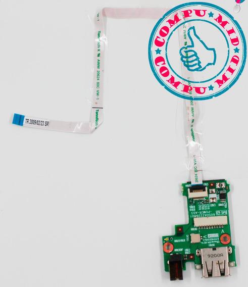 Conector De Usb Y Dc Jack Hp Mini 1000 6050a2226801