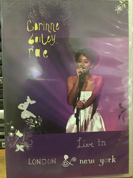 Dvd + Cd Corine Bailey Rae Live In London E New York