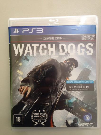 Jogo Ps3 Wath Dogs Zerado Apenas 99,90