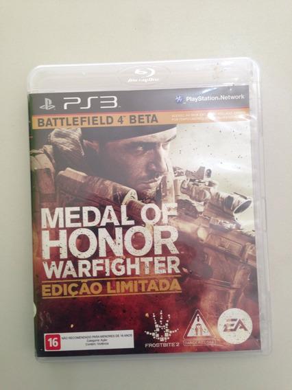 Jogo Ps3 Medal Honor Apenas 89,90
