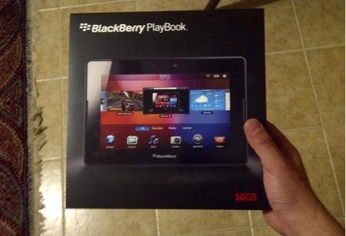 Caja Blackberry Playbook 16 Gb