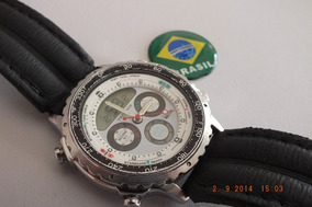 Relogio Technos Nautica-c050-raridade-brasil Relógios-unico