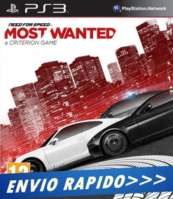 Need For Speed Most Wanted [ps3 Psn] Envio Rapido