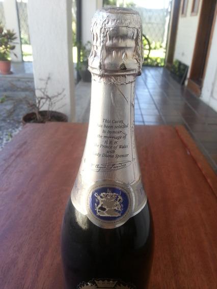 Botella De Champagne Real Principe Carlos Y Lady Diana 1981
