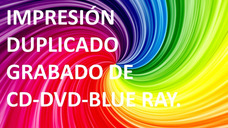 Impresion Y Reproduccion De Cd Y Dvd (al Mayor)