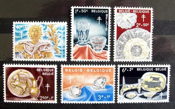 Bélgica - Serie Compl. Yv. 1163-68 Mint L3624