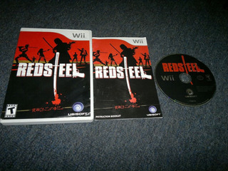 Red Steel Completo Para Nintendo Wii,excelente Titulo