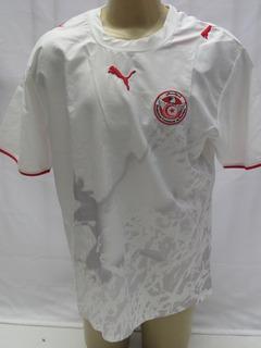 Camisa De Futebol Da Seleção Da Tunisia - Puma 2006 - K