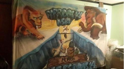 Graffiti, Murales, Banderas De Egresados, Cuadros, Logos