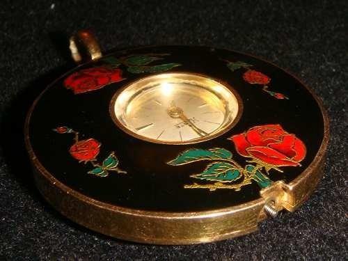 Reloj Haste Dama, Antiguo, Para Colgar, Funcionando