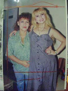 Foto De Susy Diaz Con Judith Bustos La Tigresa Del Oriente