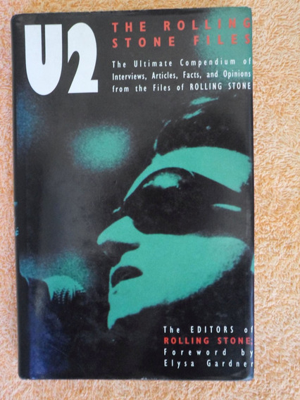 Livro U2 The Rolling Stone Files - Importado - Bono Vox