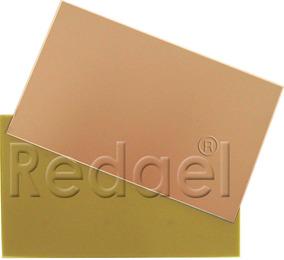 Placa Fibra De Vidro Dupla Face 15x20 Pci Circuito Impresso