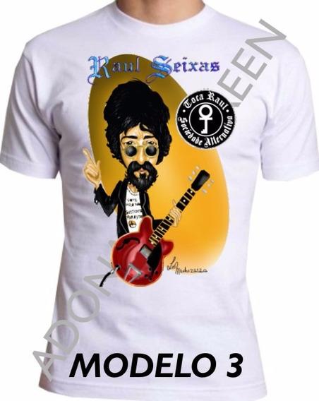 Camiseta Raul Seixas, Camiseta Maluco Beleza M-3
