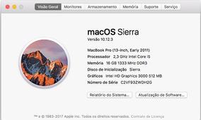 Macbook Pro I5 2.3 Inicio 2011 Troca Com Volta Em Mac Retina