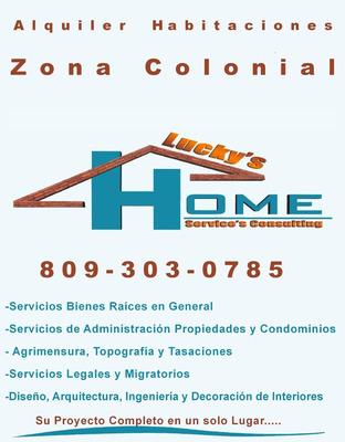 Alquiler Habitaciones, Zona Colonial.bienes Raices