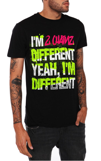 Hot Topic Playera 2 Chainz Different Slim-fit T-shirt Xs